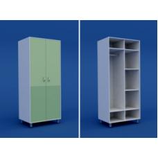 Шкаф для одежды двухстворчатый  МШ-2.25-ВТМ  800х550х1800