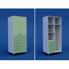Шкаф для одежды  МШ-2.26-ВТМ  1000х400х1800