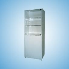 """Шкаф металлический двухсекционный однодверный для размещения, хранения лекарственных средств, перевязочных материалов и других изделий медицинского назначения ШМ-01-""""МСК"""" (570х320х1655, МСК-646.02)"""