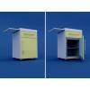 Тумба прикроватная с мини-холодильником и выдвижнымстоликом (1 ящик) МТП-1.12-ВТМ