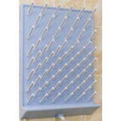 Навесной сушильный стеллаж для пробирок и колб