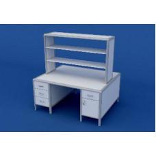 Стол для медлабораторий островной АСЛ-0.15-ВТМ   1500х1200х1500