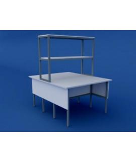 Стол лабораторный физический островной низкий ЛСФО-0.01-ВТМ  1200х1500х750/1350