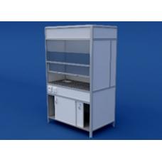 Шкаф вытяжной(керамическая столешница) ЛШВ-0.04-ВТМ