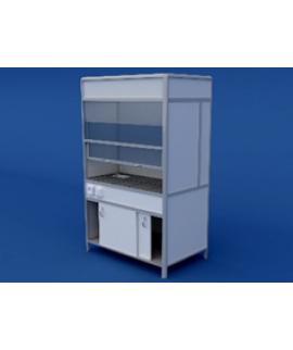 Шкаф вытяжной(керамическая столешница) ЛШВ-0.04-ВТМ  1200х750х2000